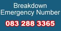 Breakdown Emergency Number